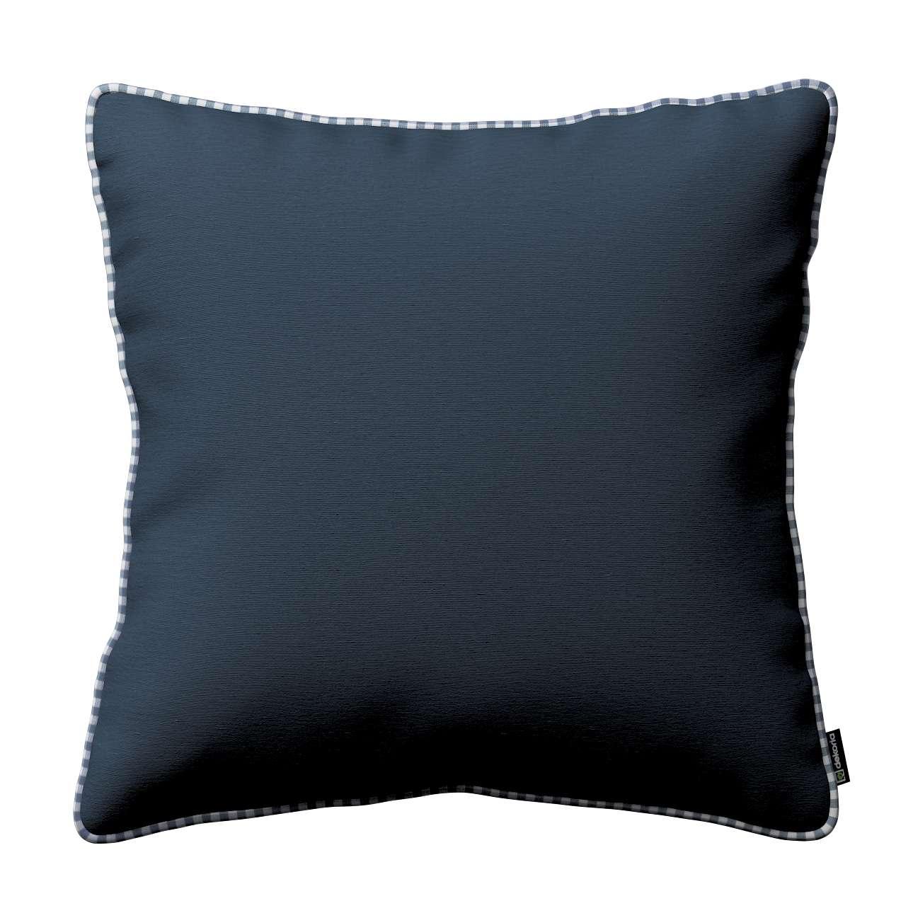 Gabika so šnúrkou, obliečka na vankúš V kolekcii Quadro, tkanina: 136-04