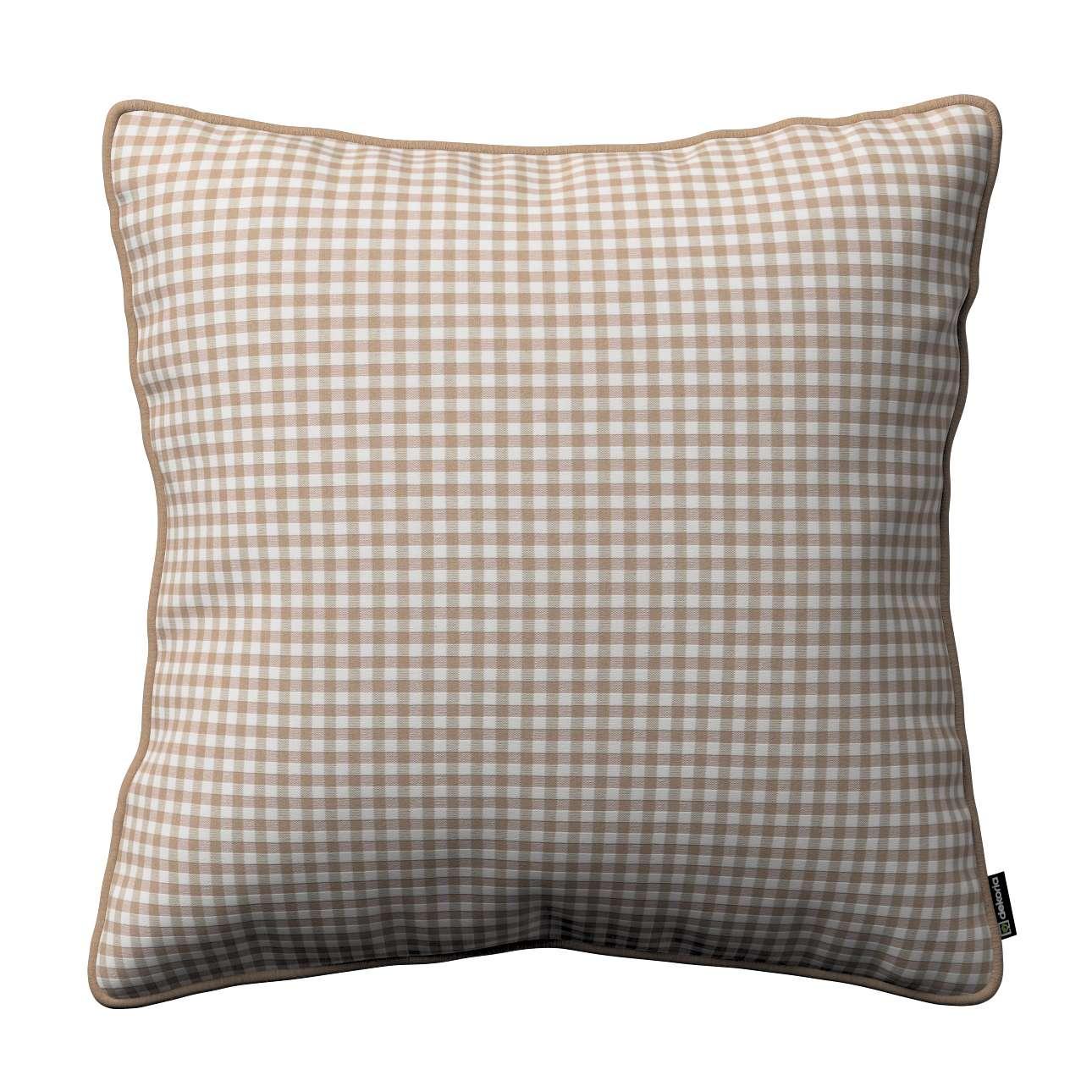 Poszewka Gabi na poduszkę 45 x 45 cm w kolekcji Quadro, tkanina: 136-05