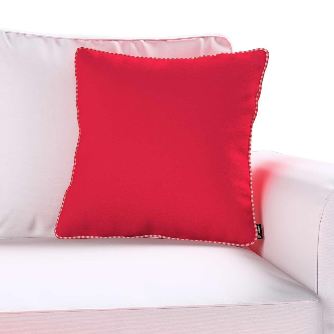 Poszewka Gabi na poduszkę w kolekcji Quadro, tkanina: 136-19