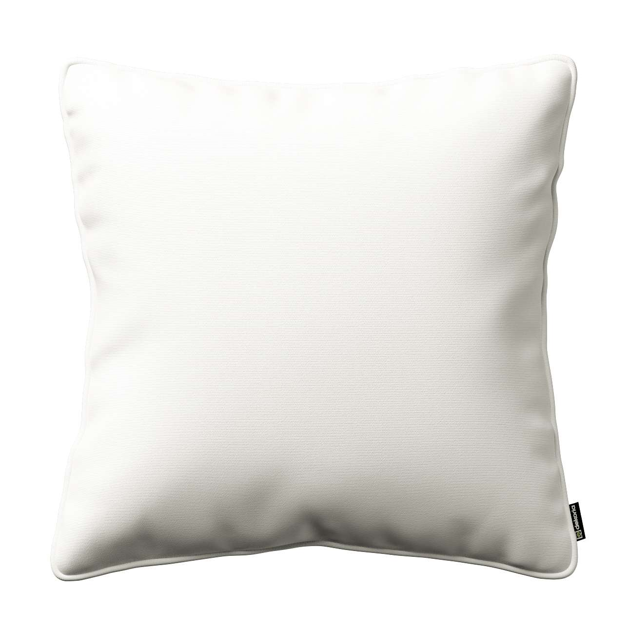 Kissenhülle Gabi mit Paspel 45 x 45 cm von der Kollektion Cotton Panama, Stoff: 702-34