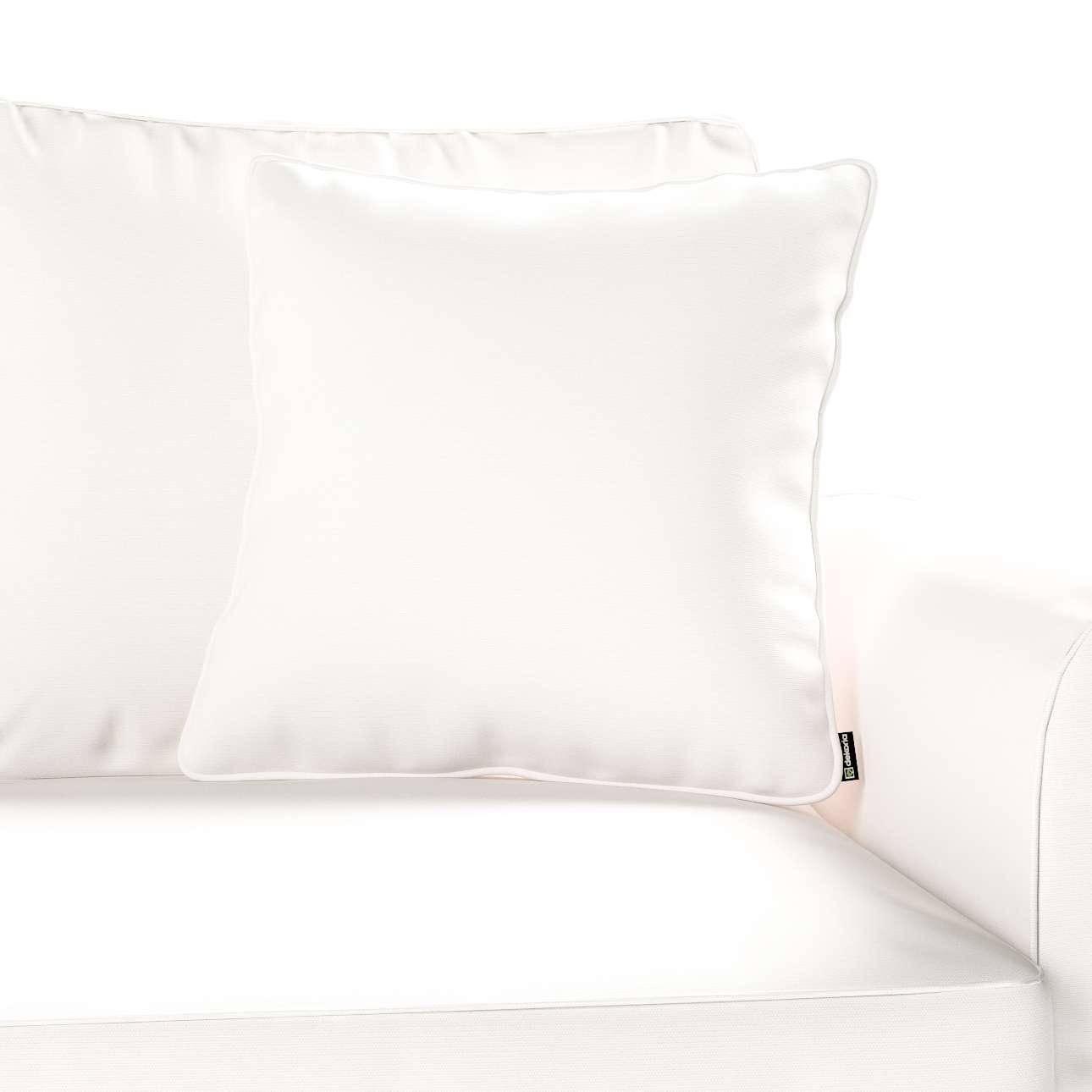 Gabi dekoratyvinės pagavėlės užvalkalas su specialia siūle 45 x 45 cm kolekcijoje Cotton Panama, audinys: 702-34