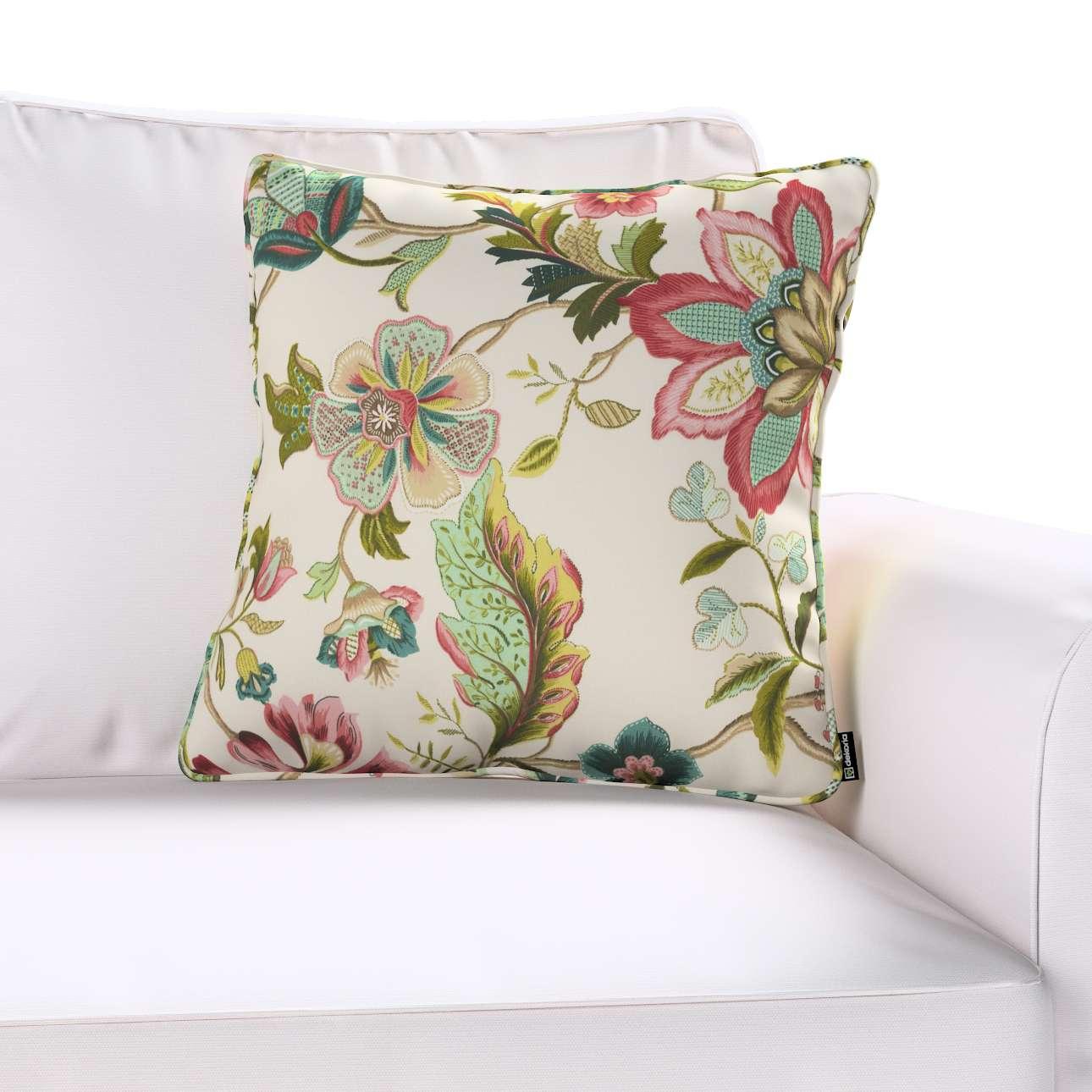 Gabi dekoratyvinės pagavėlės užvalkalas su specialia siūle 45 × 45 cm kolekcijoje Londres, audinys: 122-00