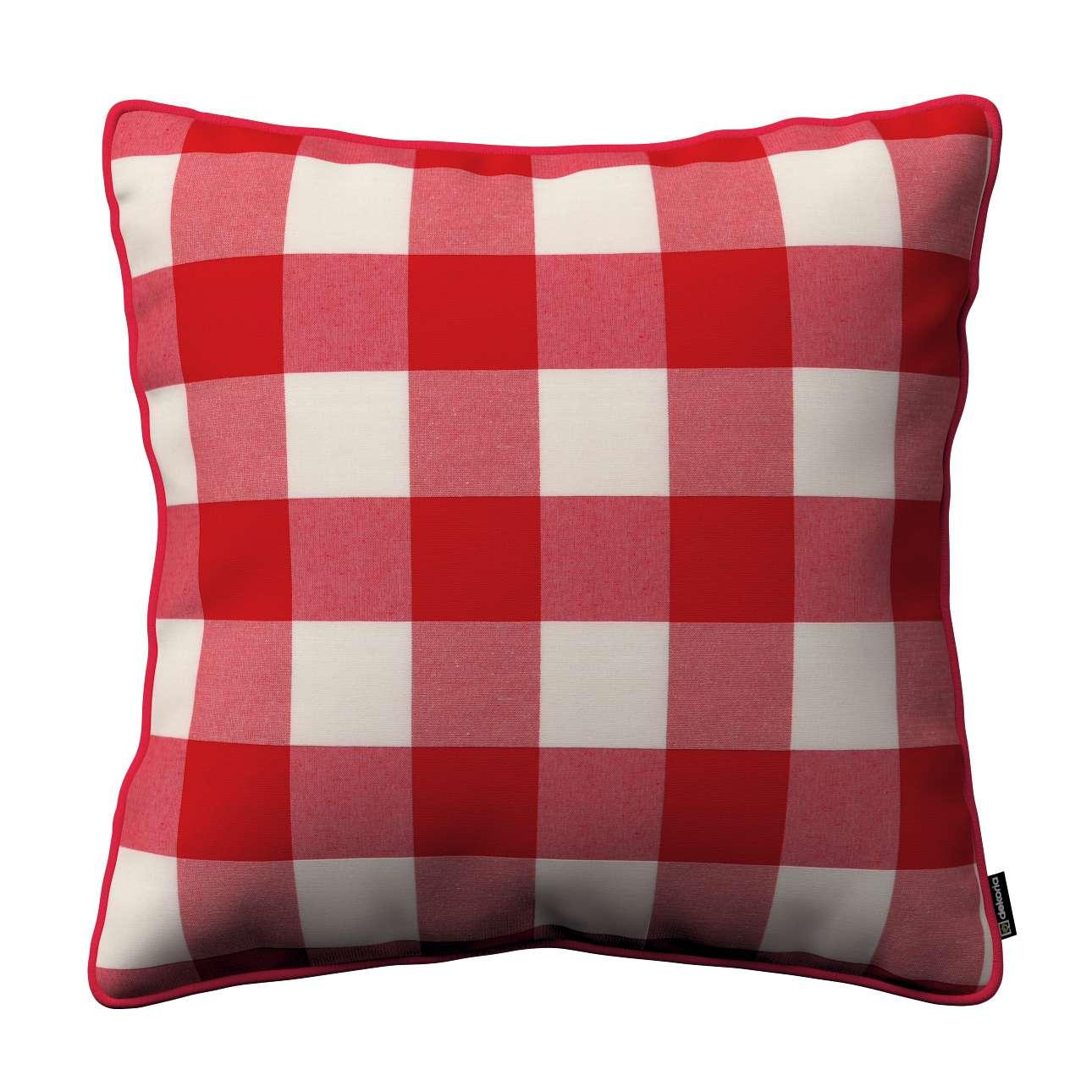 Poszewka Gabi na poduszkę w kolekcji Quadro, tkanina: 136-18