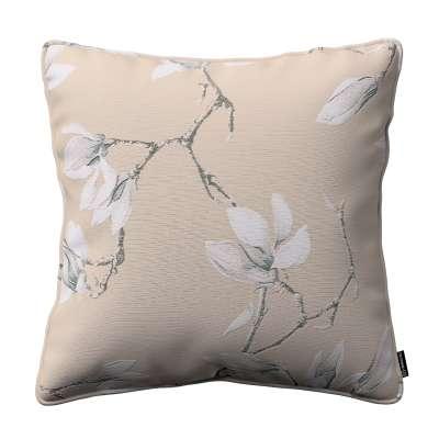 Poszewka Gabi na poduszkę 311-12 magnolie na beżowym tle Kolekcja Flowers