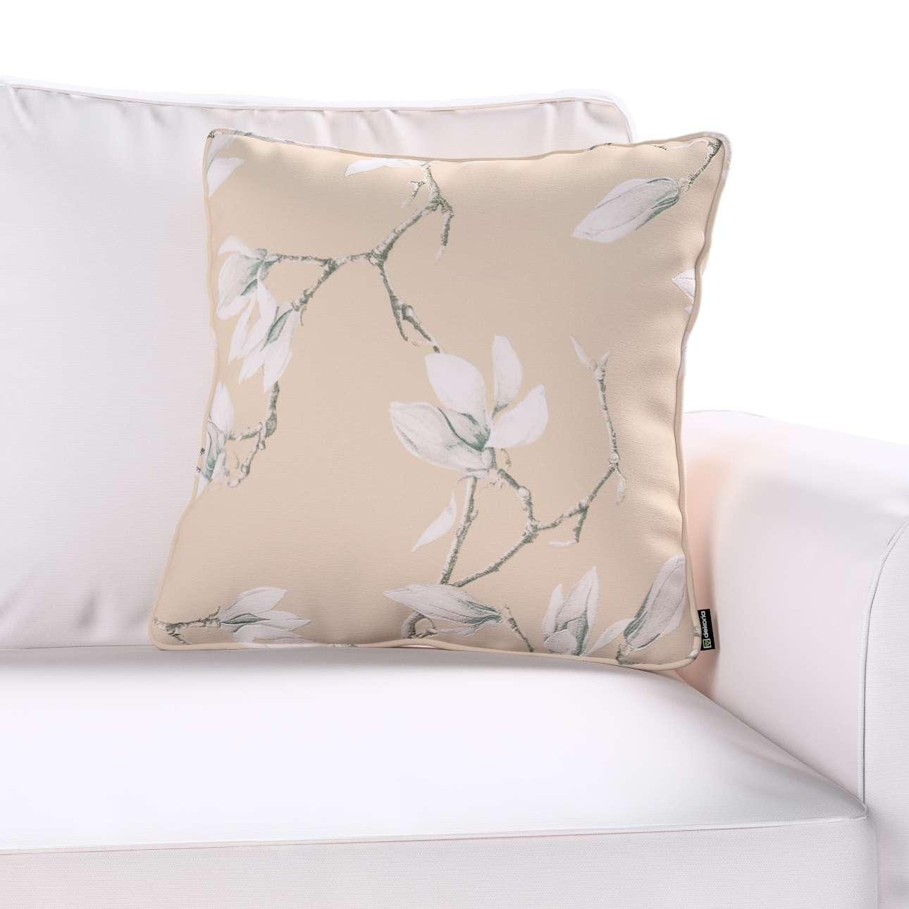 Poszewka Gabi na poduszkę 45 x 45 cm w kolekcji Flowers, tkanina: 311-12