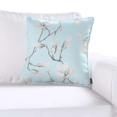 Gabi piped cushion cover  in collection Flowers, fabric: 311-14