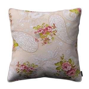 Gabi dekoratyvinės pagavėlės užvalkalas su specialia siūle 45 x 45 cm kolekcijoje Flowers, audinys: 311-15