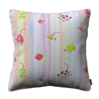 Gabi dekoratyvinės pagavėlės užvalkalas su specialia siūle 151-05 spalvingi gyvūnai vaivorykštės fone Kolekcija Little World