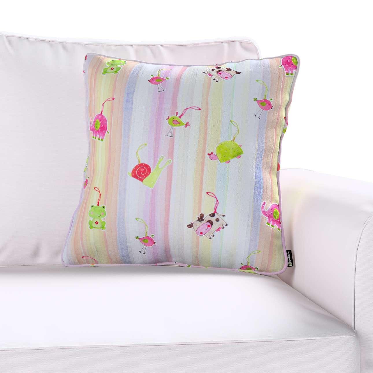 Gabi dekoratyvinės pagavėlės užvalkalas su specialia siūle 45 × 45 cm kolekcijoje Apanona, audinys: 151-05