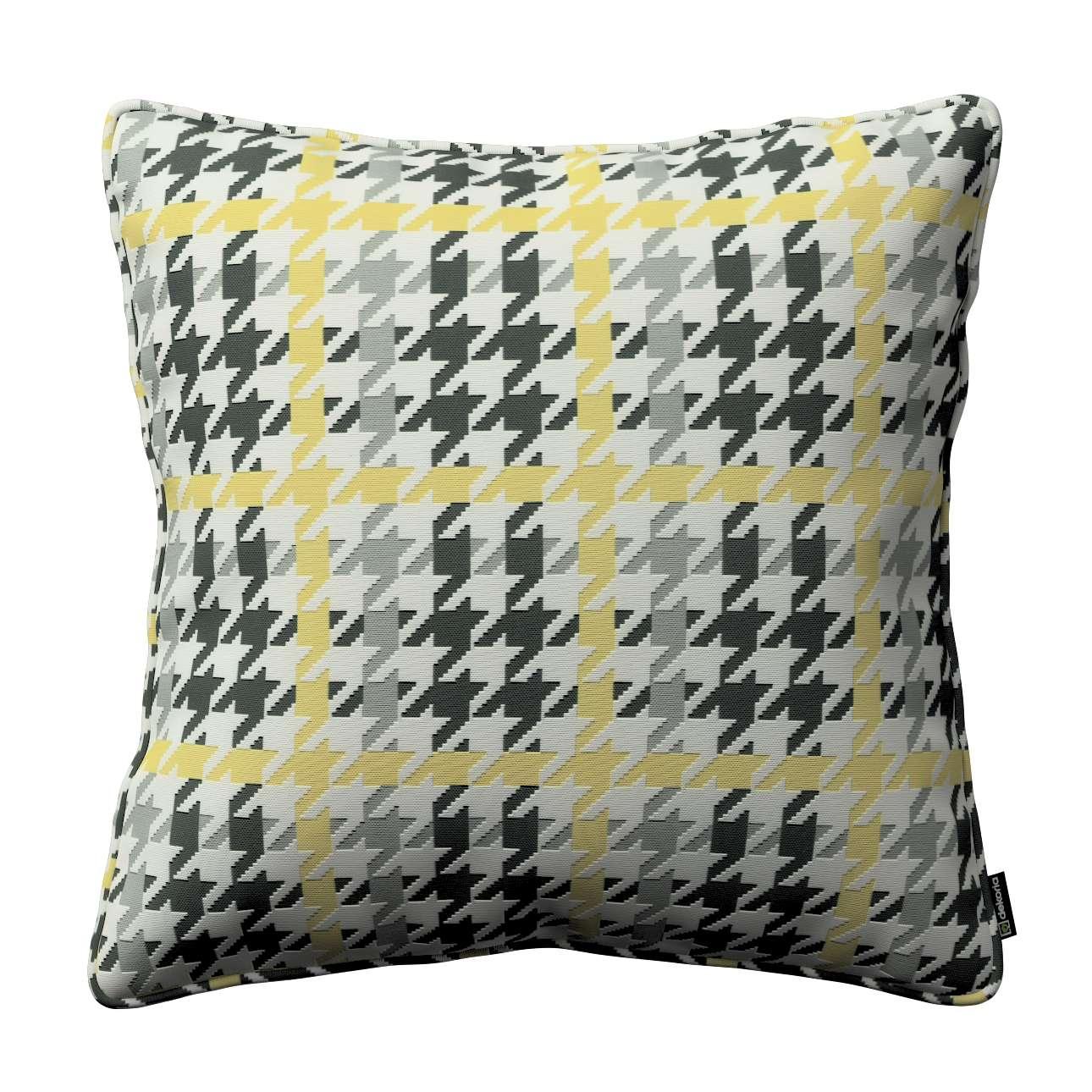 Poszewka Gabi na poduszkę 45 x 45 cm w kolekcji Brooklyn, tkanina: 137-79