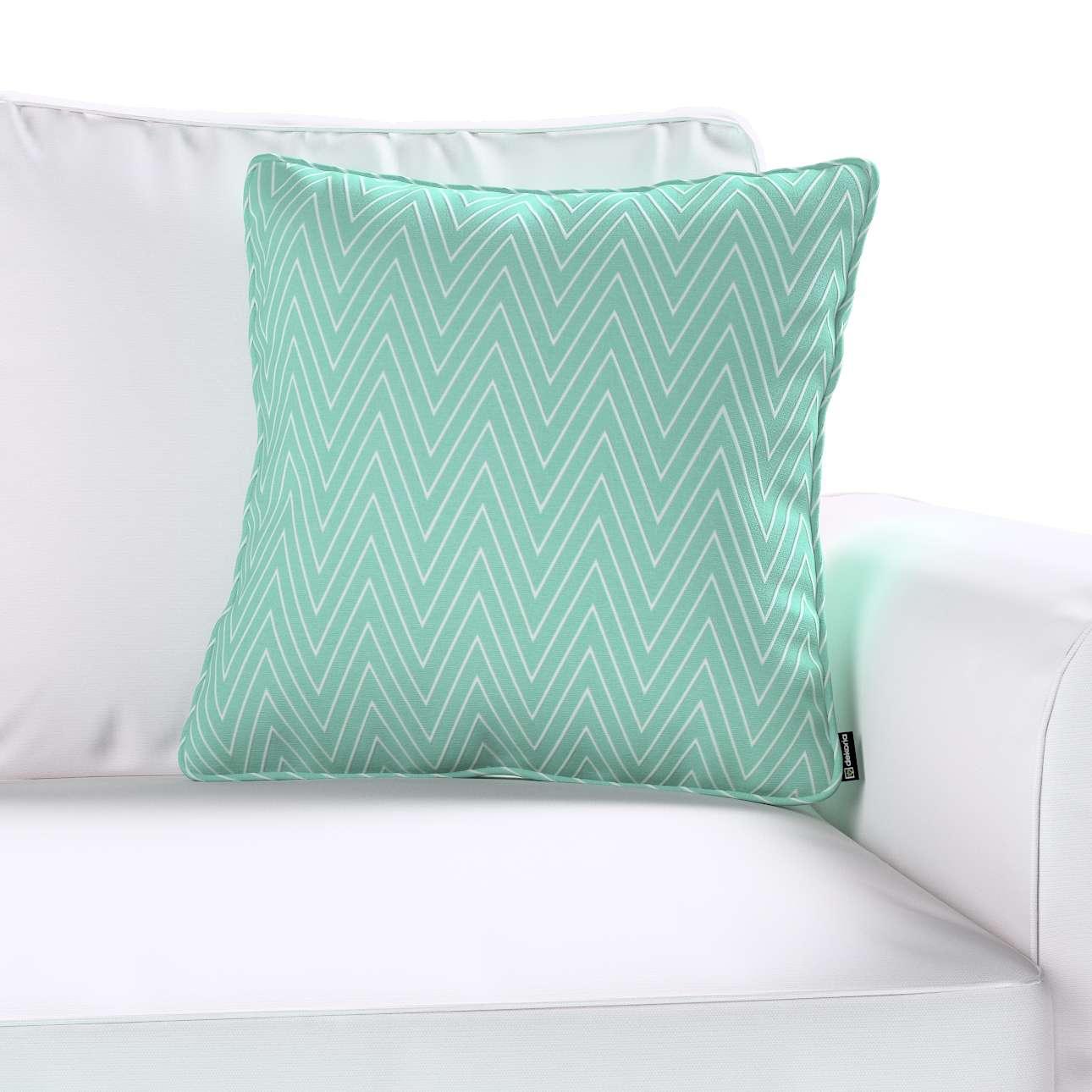 Poszewka Gabi na poduszkę 45 x 45 cm w kolekcji Brooklyn, tkanina: 137-90