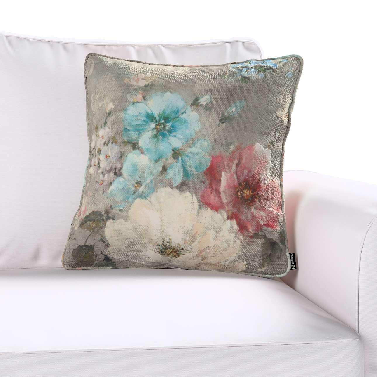 Gabika so šnúrkou, obliečka na vankúš V kolekcii Flowers, tkanina: 137-81