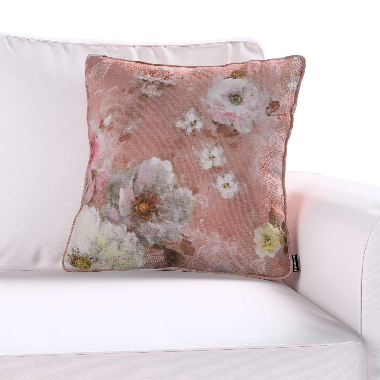 Poszewka Gabi na poduszkę 45 x 45 cm w kolekcji Monet, tkanina: 137-83