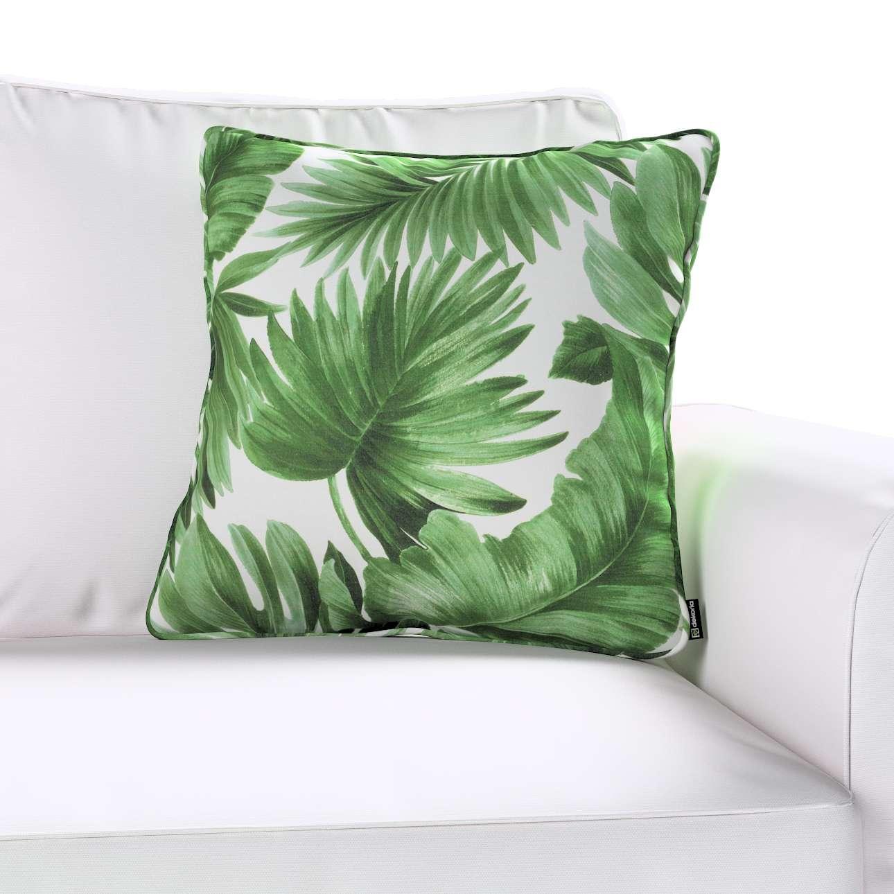 Poszewka Gabi na poduszkę w kolekcji Tropical Island, tkanina: 141-71