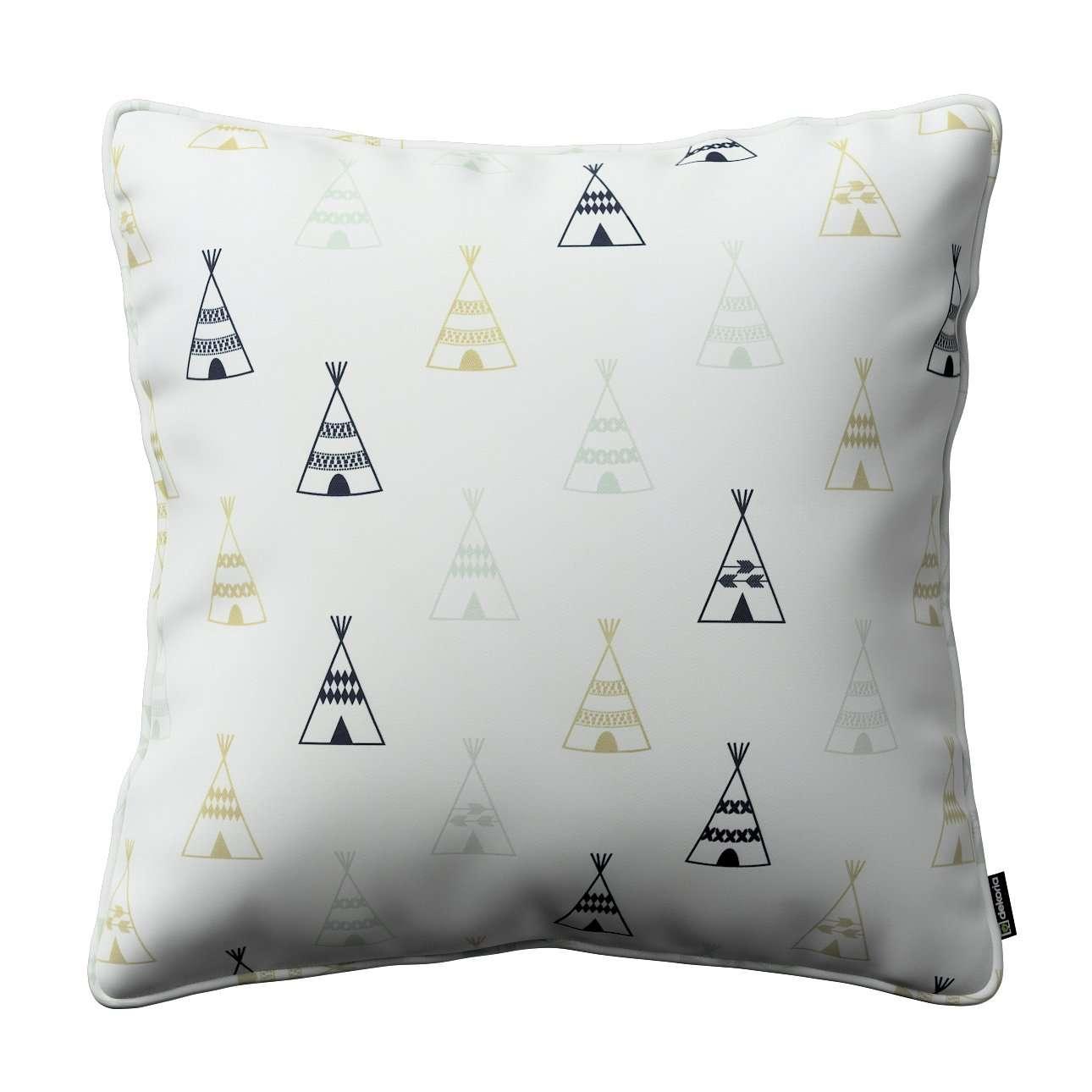 Poszewka Gabi na poduszkę w kolekcji Adventure, tkanina: 141-84