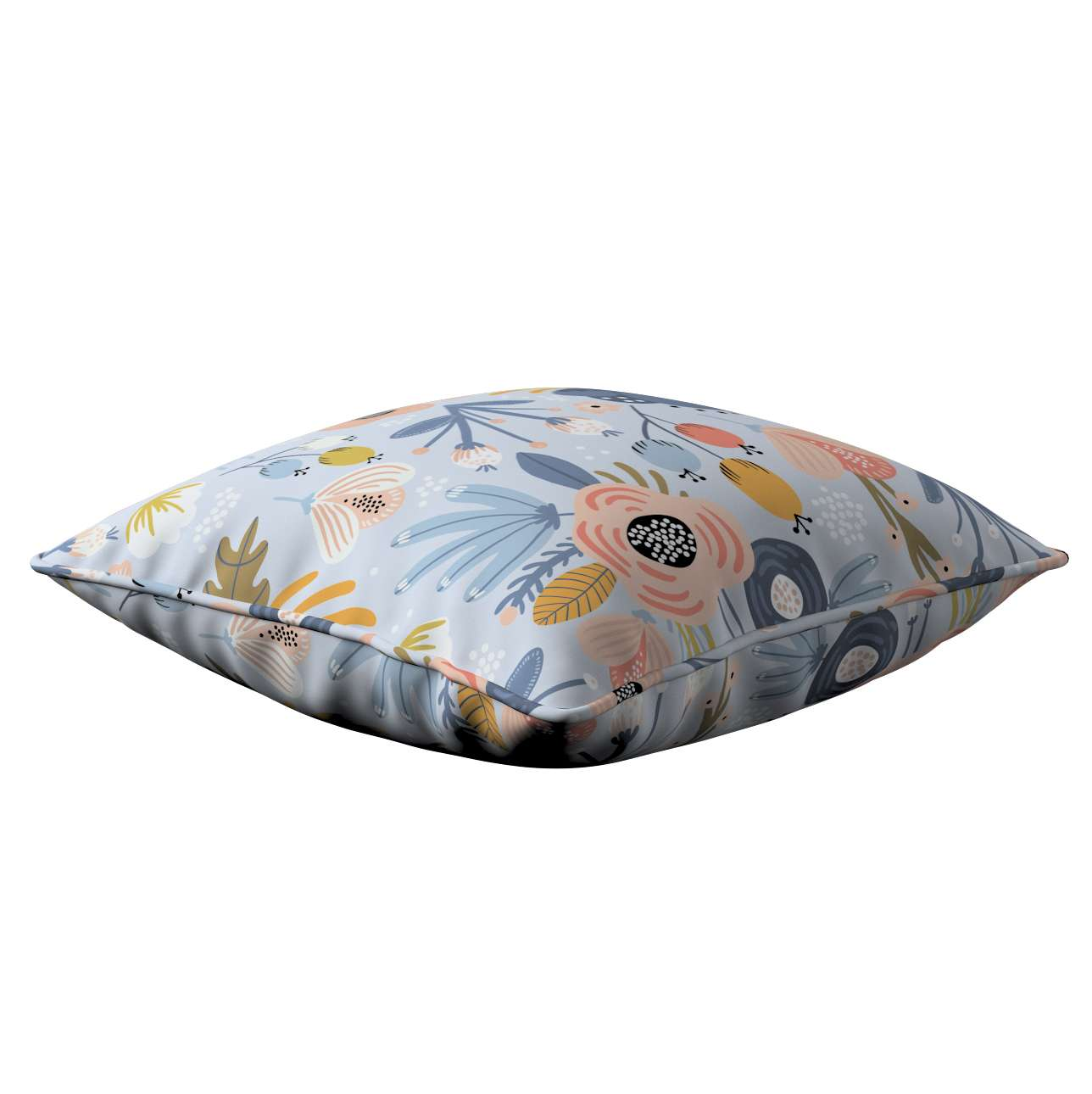 Lola piped cushion cover in collection Magic Collection, fabric: 500-05