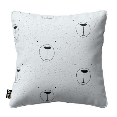 Lola piped cushion cover in collection Magic Collection, fabric: 500-06