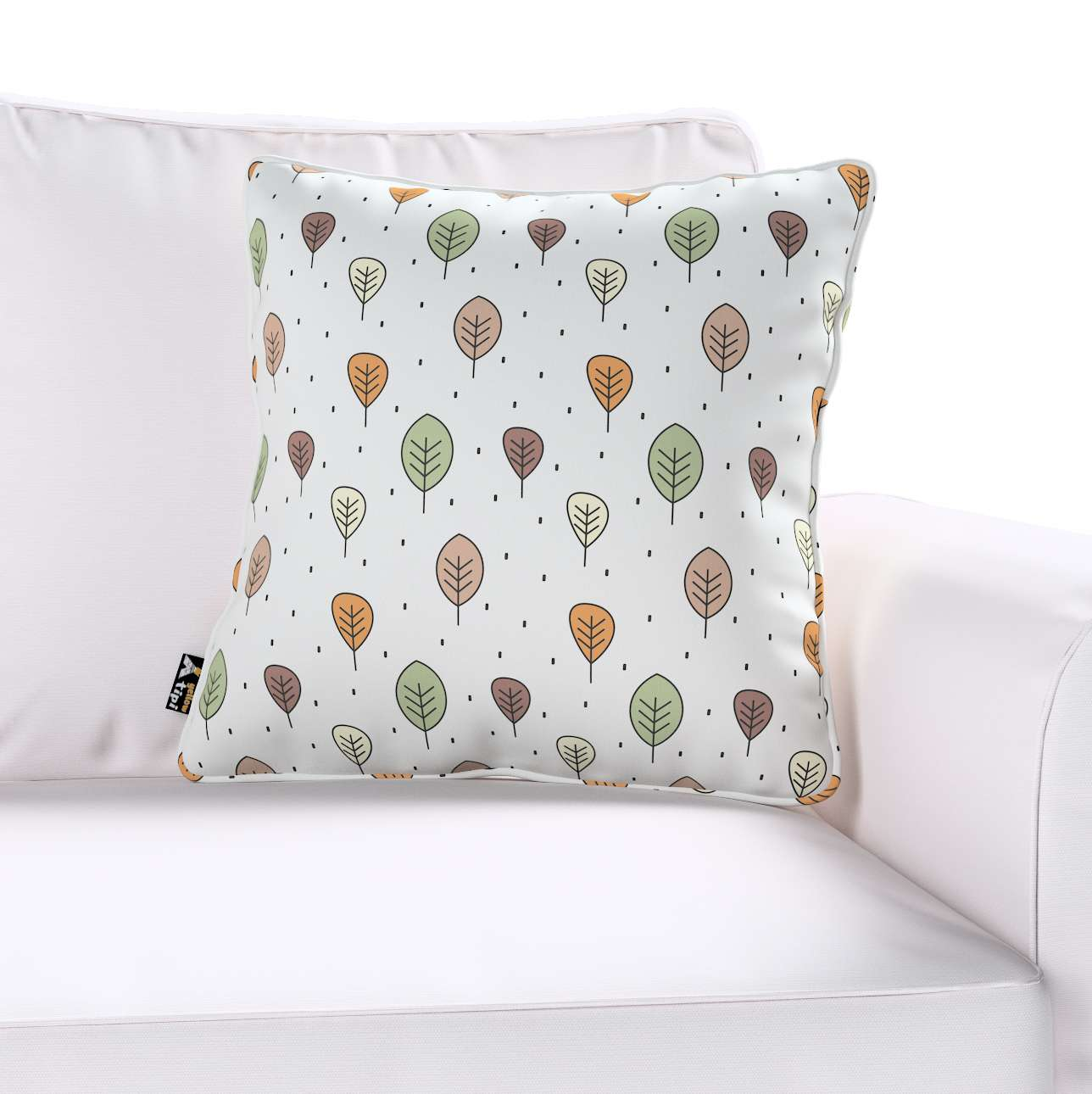 Lola piped cushion cover in collection Magic Collection, fabric: 500-09