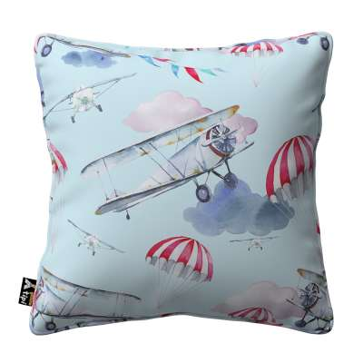 Lola piped cushion cover in collection Magic Collection, fabric: 500-10