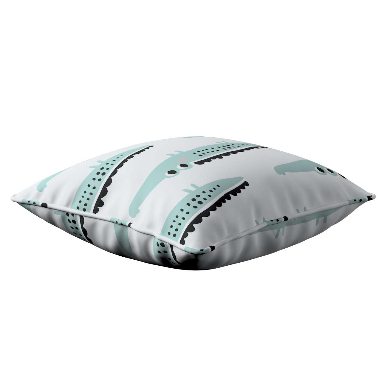Lola piped cushion cover in collection Magic Collection, fabric: 500-11