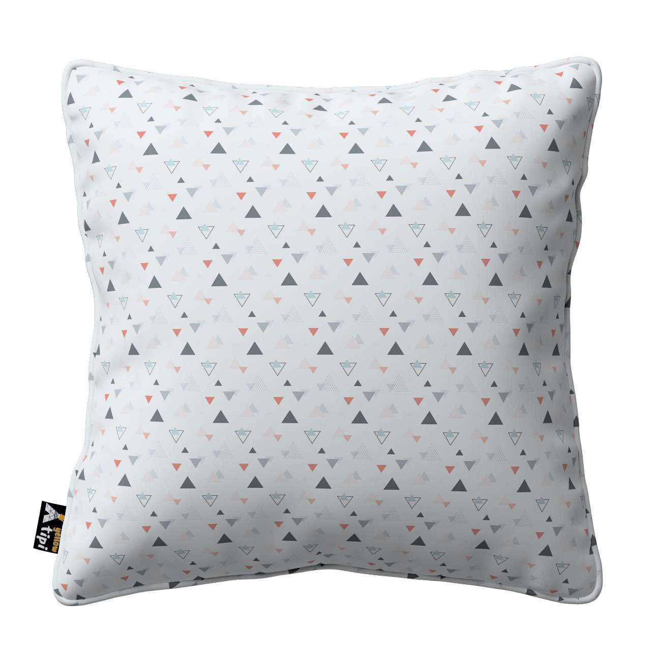 Lola piped cushion cover in collection Magic Collection, fabric: 500-22