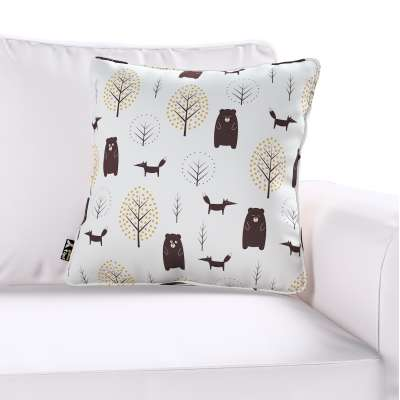 Lola piped cushion cover in collection Magic Collection, fabric: 500-19