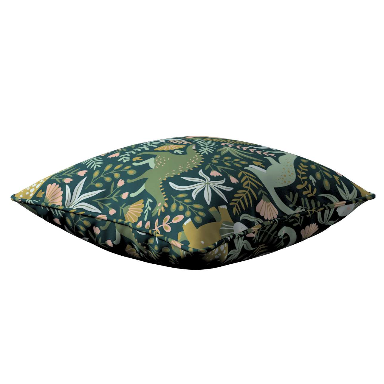 Lola piped cushion cover in collection Magic Collection, fabric: 500-20