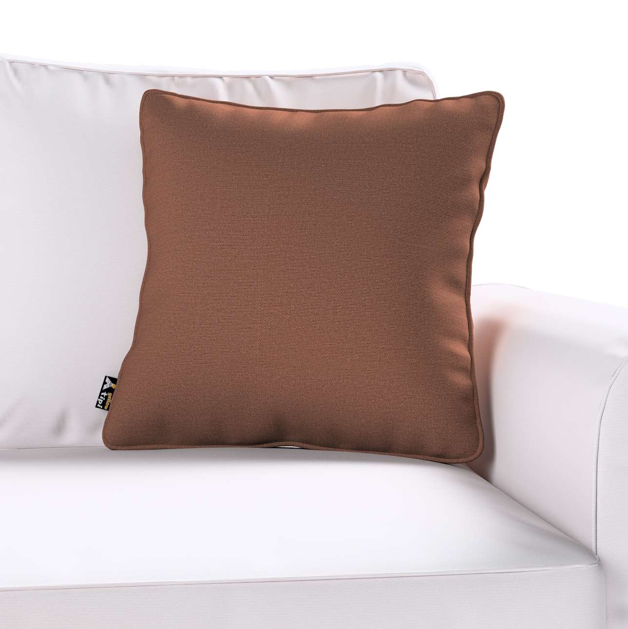 Lola piped cushion cover in collection Happiness, fabric: 133-09
