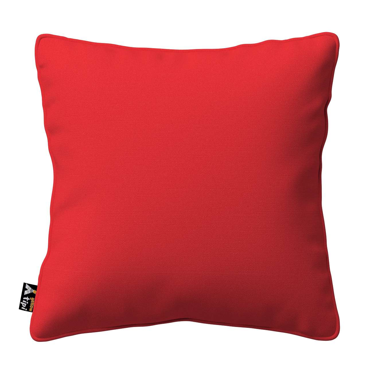 Lola piped cushion cover in collection Happiness, fabric: 133-43