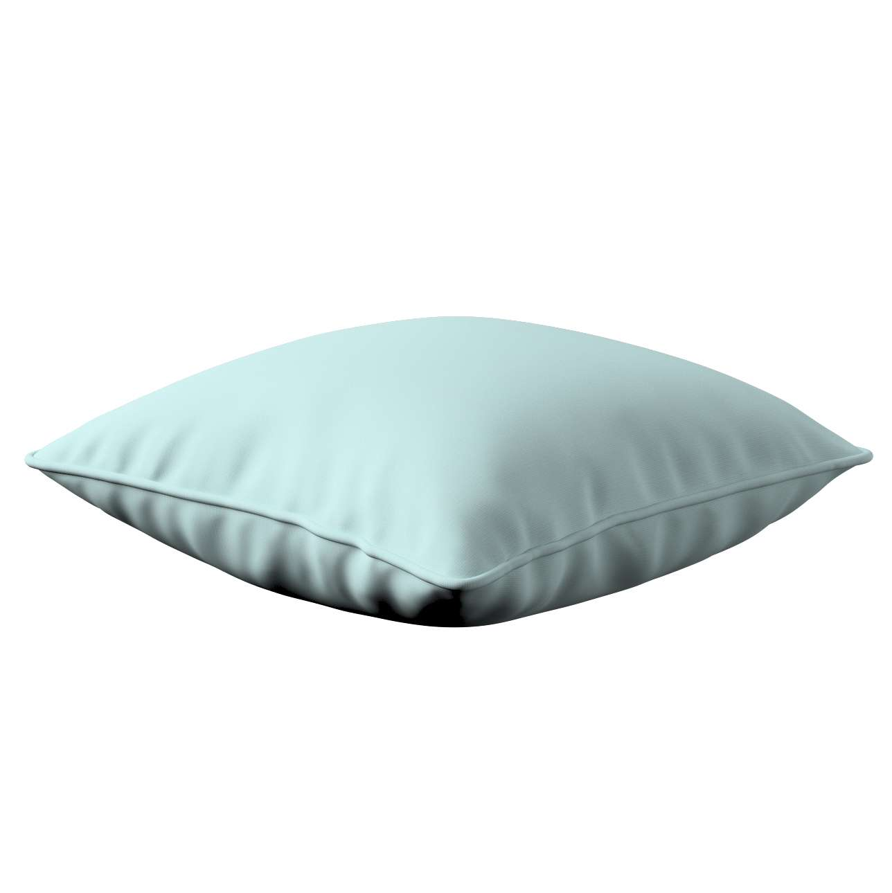 Lola piped cushion cover in collection Cotton Story, fabric: 702-10
