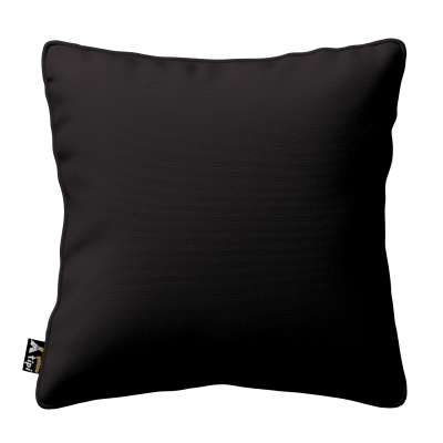 Lola piped cushion cover 702-09 black Collection Cotton Story