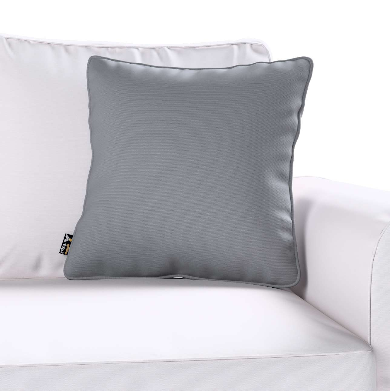Lola piped cushion cover in collection Cotton Story, fabric: 702-07