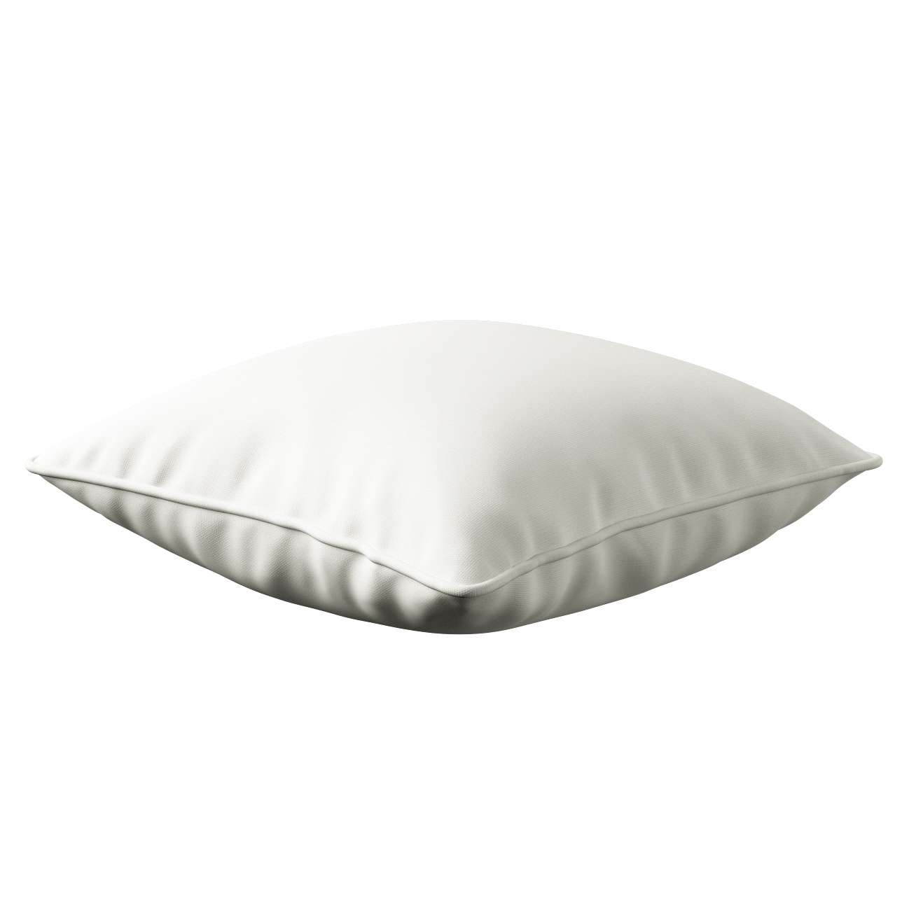 Lola piped cushion cover in collection Cotton Story, fabric: 702-34