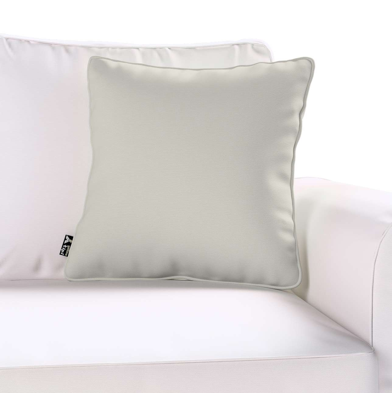 Lola piped cushion cover in collection Cotton Story, fabric: 702-31