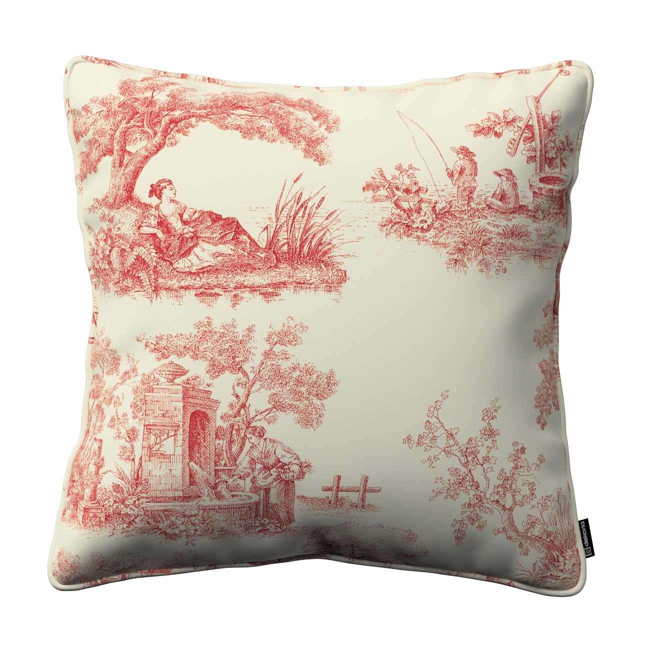 Poszewka Gabi na poduszkę 45 x 45 cm w kolekcji Avinon, tkanina: 132-15
