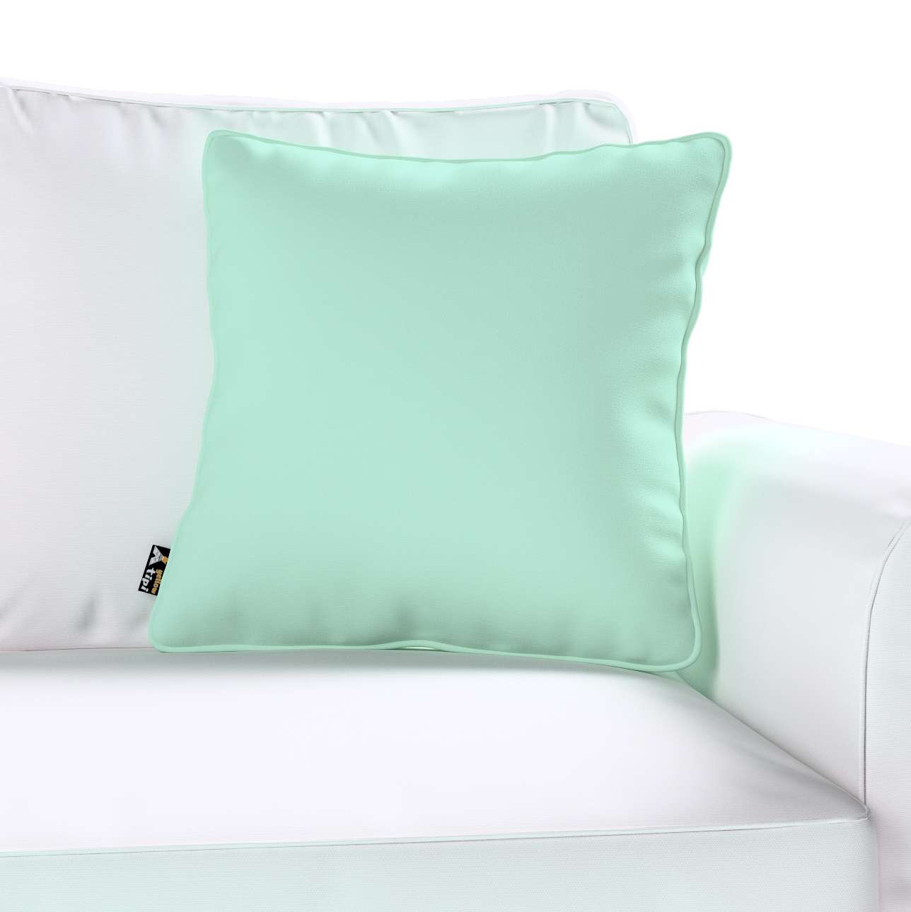 Lola piped cushion cover in collection Happiness, fabric: 133-37