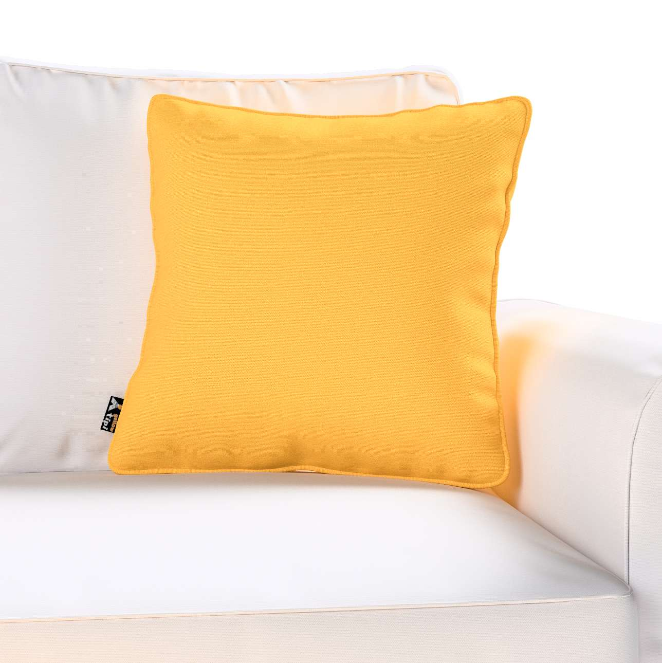 Lola piped cushion cover in collection Happiness, fabric: 133-40