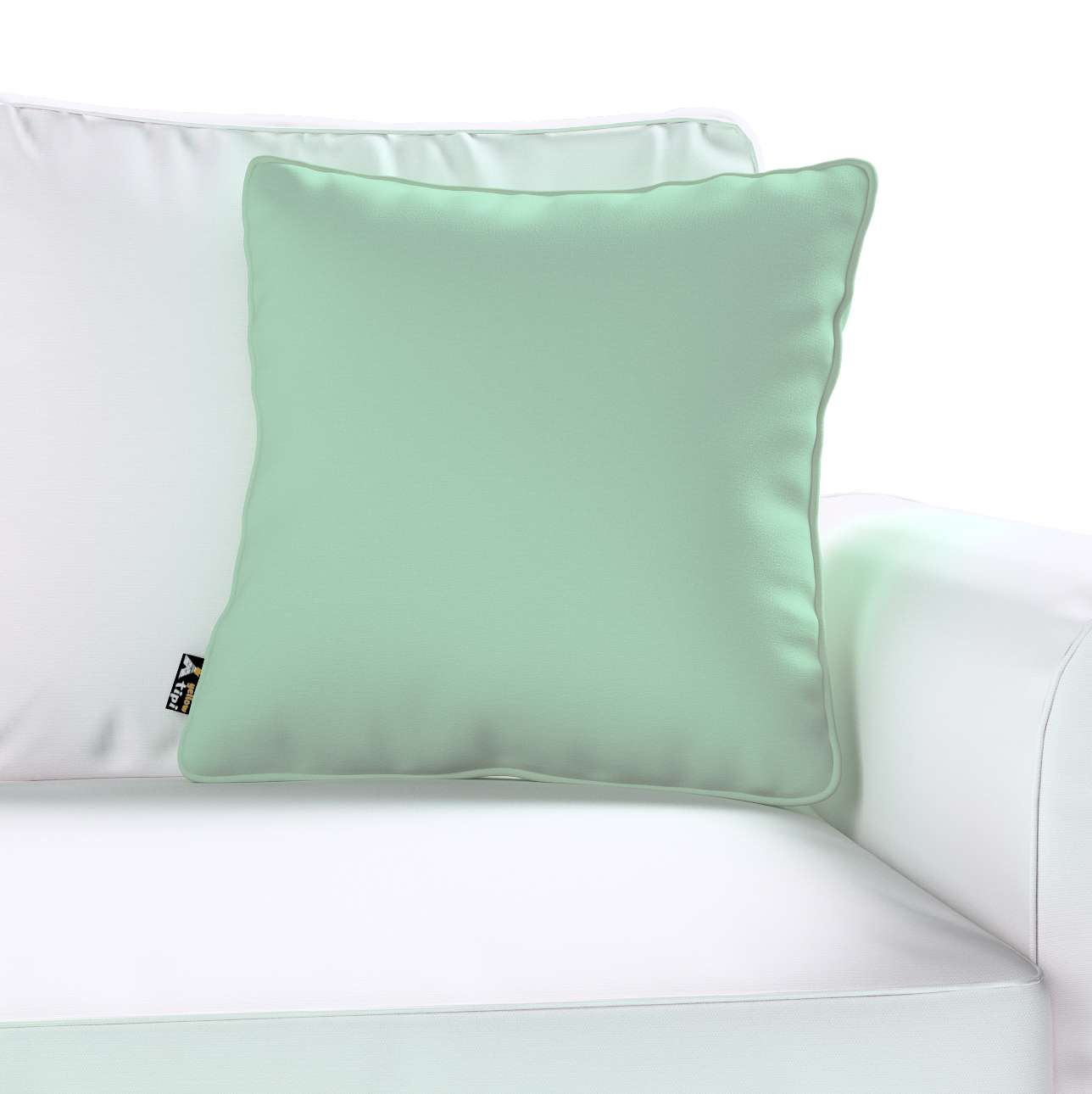 Lola piped cushion cover in collection Happiness, fabric: 133-61