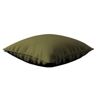 Poszewka Gabi na poduszkę 161-26 oliwkowa zieleń Kolekcja Etna
