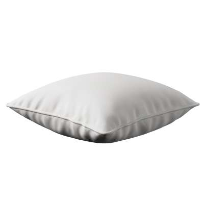 Lola piped cushion cover 392-04 white Collection Nature
