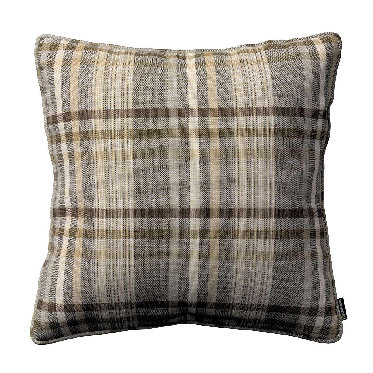 Gabika so šnúrkou, obliečka na vankúš V kolekcii Edinburg, tkanina: 703-17