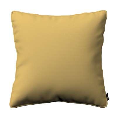 Poszewka Gabi na poduszkę 702-41 zgaszony żółty Kolekcja Cotton Panama