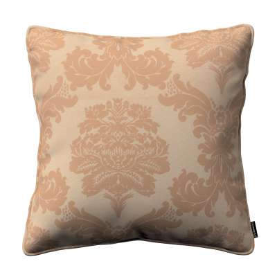 Poszewka Gabi na poduszkę 613-04 jasno-brązowy Kolekcja Damasco