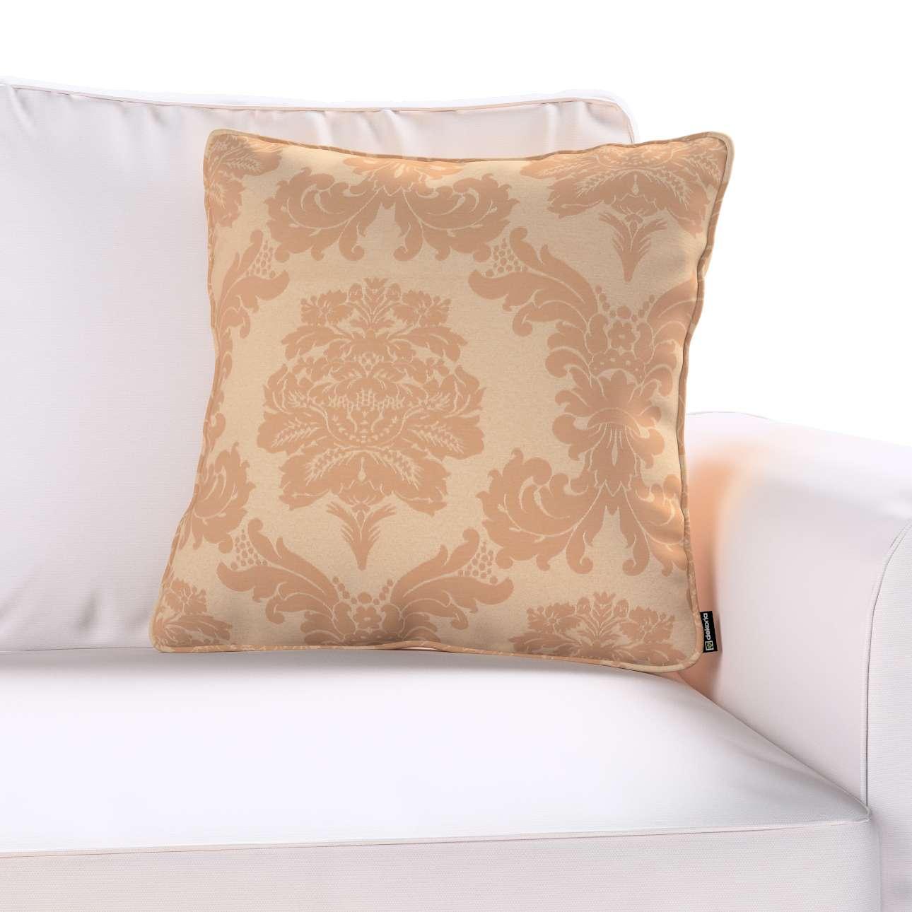 Poszewka Gabi na poduszkę w kolekcji Damasco, tkanina: 613-04