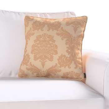Gabi dekoratyvinės pagavėlės užvalkalas su specialia siūle 45 x 45 cm kolekcijoje Damasco, audinys: 613-04