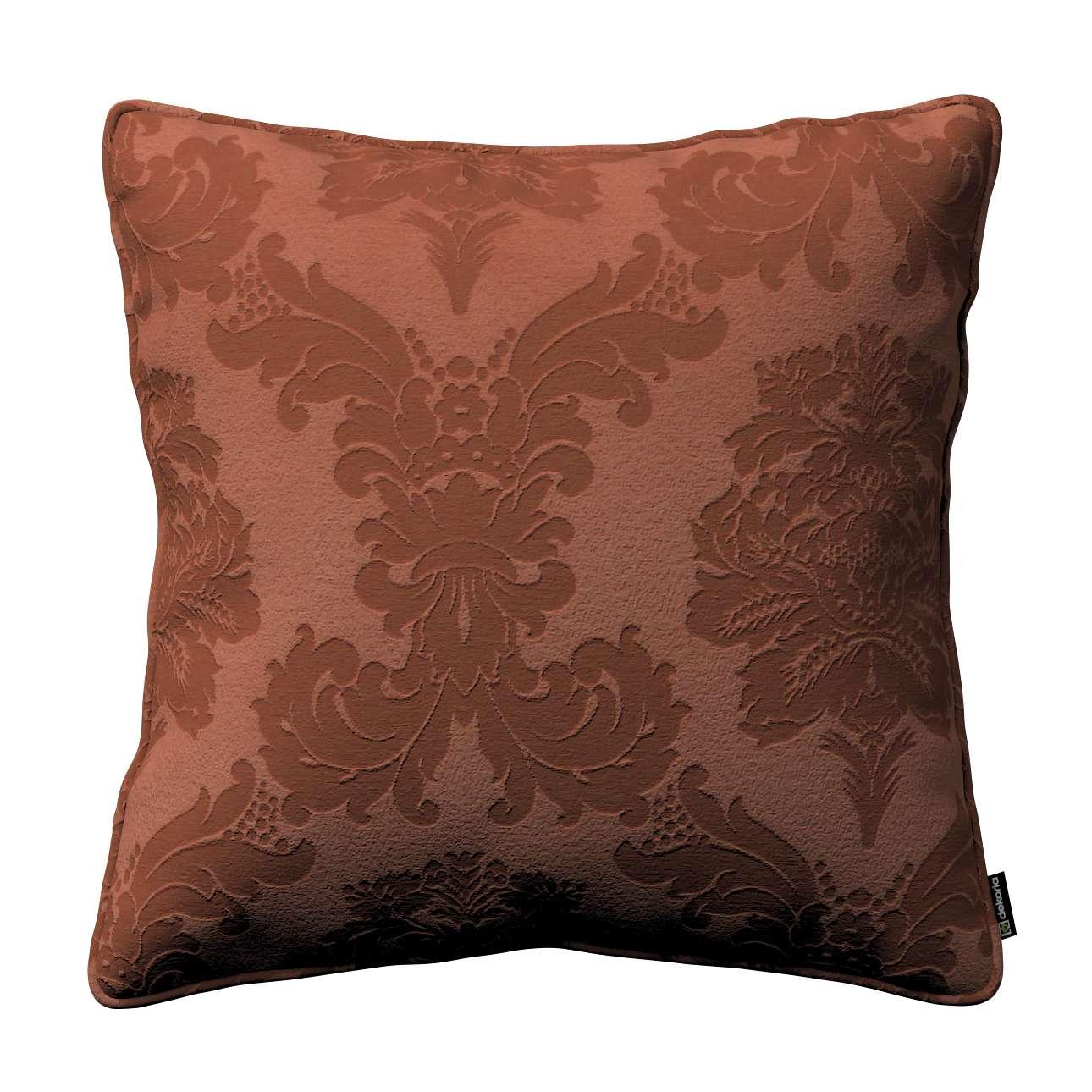 Poszewka Gabi na poduszkę 45 x 45 cm w kolekcji Damasco, tkanina: 613-88