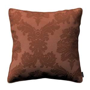 Gabi dekoratyvinės pagavėlės užvalkalas su specialia siūle 45 x 45 cm kolekcijoje Damasco, audinys: 613-88