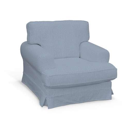 Ekeskog Sesselbezug, silber- blau, Ekeskog Sessel, Chenille