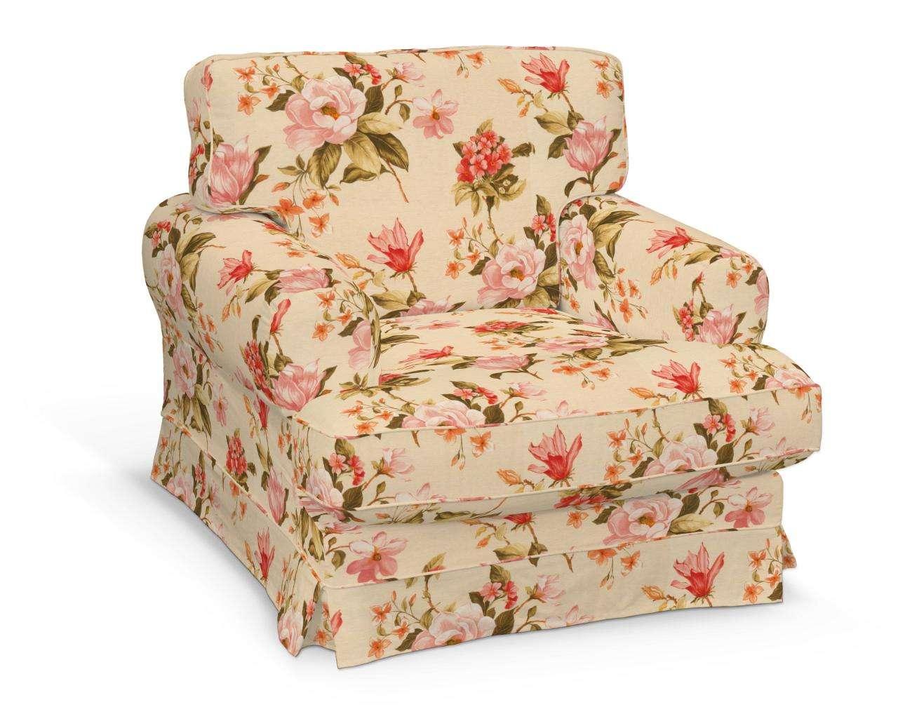 Pokrowiec na fotel Ekeskog w kolekcji Londres, tkanina: 123-05