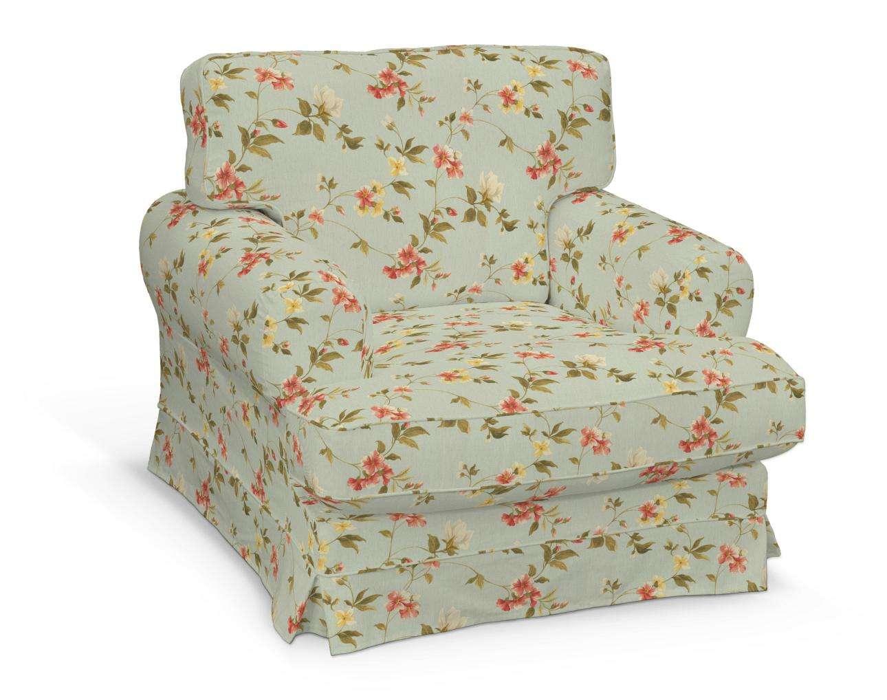 Pokrowiec na fotel Ekeskog w kolekcji Londres, tkanina: 124-65